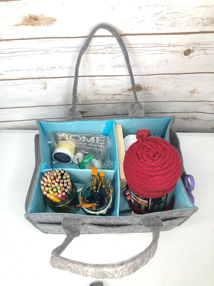 Mimmo craft caddy by Mollie Ollie