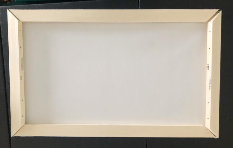 how to assemble a PhotoWall canvas frame