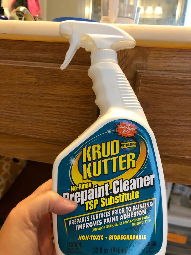 Krud Kutter, for cleaning surfaces before painting for better adhesion