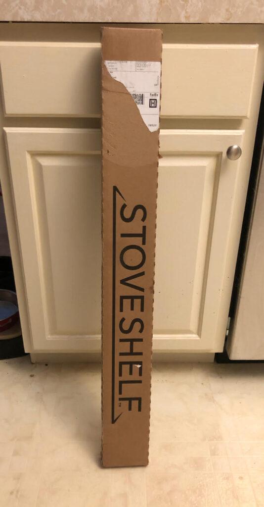 StoveTop range magnetic shelf in box