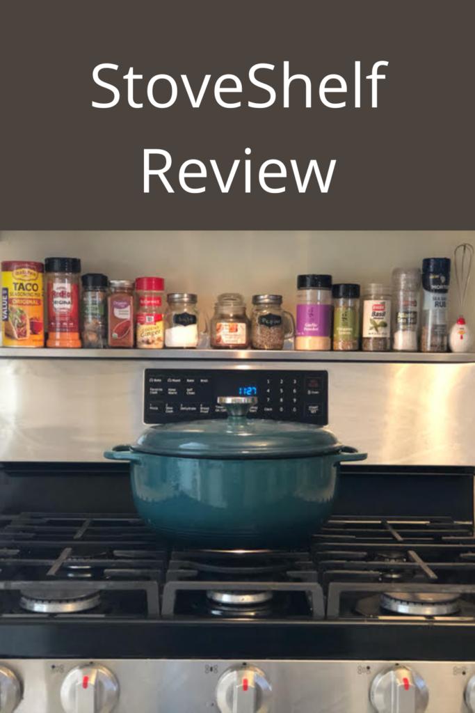 magnetic stove shelf