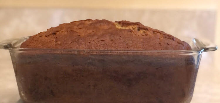 Healthy Applesauce Banana Bread Recipe (Tasty Tuesday)