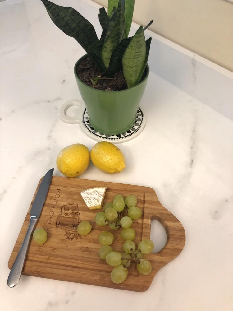 epoxy faux marble kitchen counter