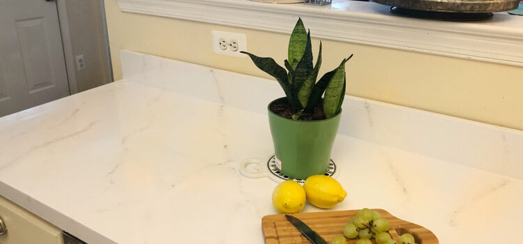 My New Marble Kitchen Counters – How I Saved Thousands of Dollars