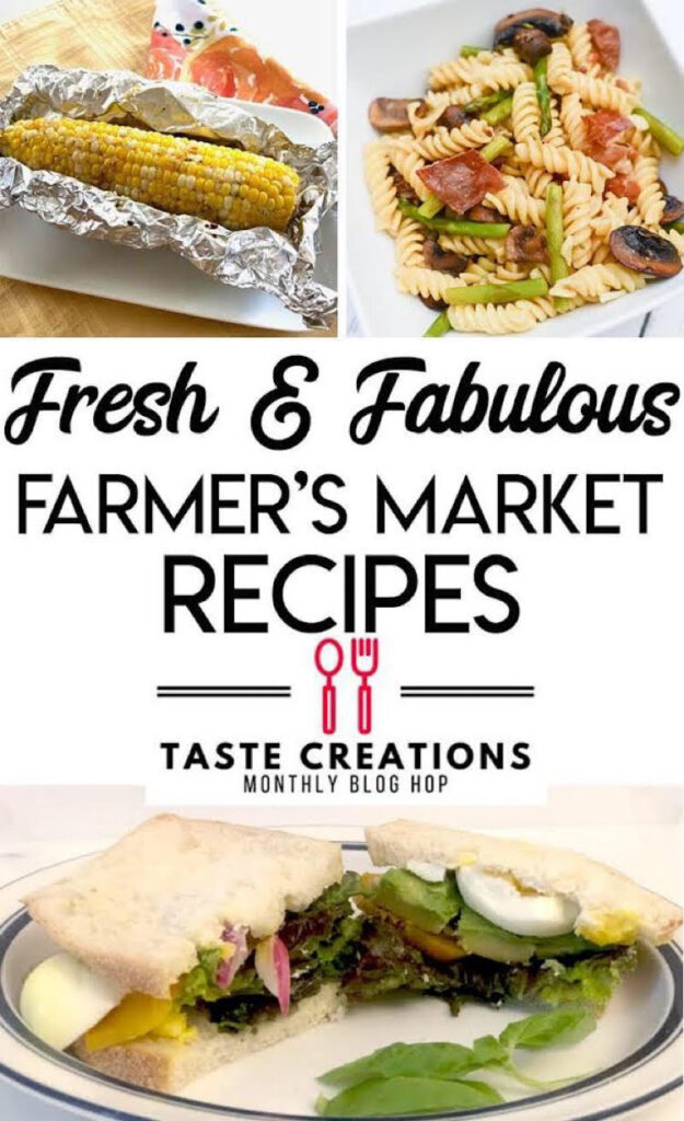 delicious recipes with vegetables from farmers markets