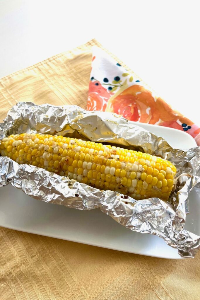 oven roasted corn on the cob