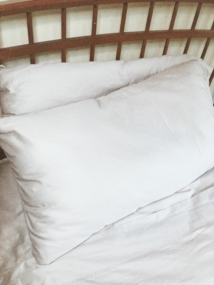 Gray Therapedic cotton sheets