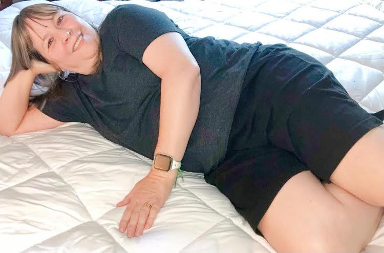 Blogger Lauren Kim on her new Therapedic mattress pad